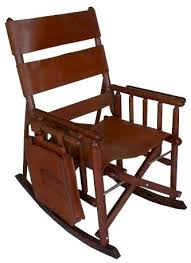 Antique Leather Armchairs For Sale Rocking Chair Leather And Wood Leather Rocking Chair For Your