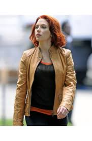 light brown leather jacket womens tan leather jacket for womens scarlett johansson jacket