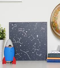 Glow In The Dark Home Decor Kids Project Ideas Glow In The Dark Constellation Art Space