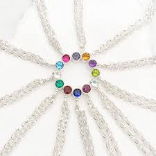 white topaz bracelet images White topaz bracelet april birthstone by lilia nash jewellery jpg