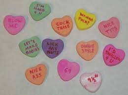 heart candy sayings monzy sweethearts