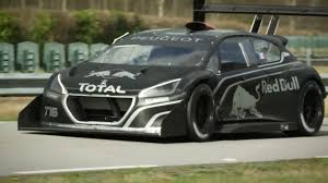 peugeot fastest car the peugeot 208 t16 pikes peak is a rocket youtube