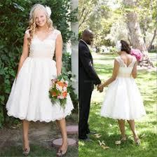 casual tea length wedding dresses suppliers best casual tea