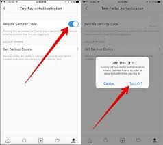 How To Turn Off Iphone Light How To Set Up Two Factor Authentication In Instagram On Iphone