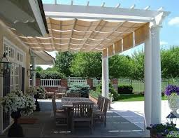 How To Cover A Pergola From Rain by The 25 Best Patio Awnings Ideas On Pinterest Deck Awnings