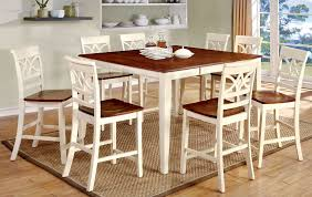 counter dining chairs torrington vintage white 9 piece counter dining set andrew u0027s