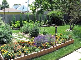 landscaping ideas for small sloping backyards the garden regarding