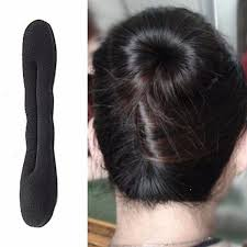 hair bun donut magic hair clip style maker pads foam sponge bun donut hairpins