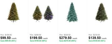 home depot black friday artifical trees christmas clearance round up where to score discounts online