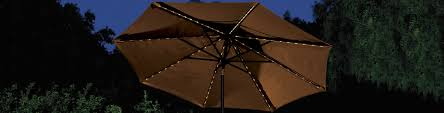 Patio Umbrella With Led Lights by Treasure Garden Treasure Garden Umbrellas Patio Umbrella
