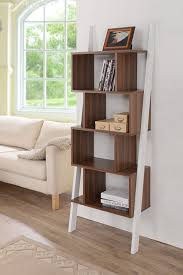 furniture of america enitial lab medies modern bookcase display