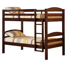 Bunk Bed Wooden Solid Wood Bunk Bed Saracina Home Target