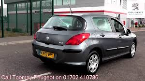 2008 peugeot 308 for sale 2009 peugeot 308 s 1 6l hurricane grey kn59wpl for sale at toomey