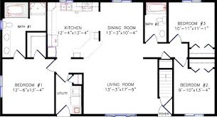 ranch house floor plans open plan floor plans for a ranch house dealpage me