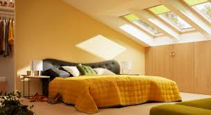 inspirational bedroom ideas with velux
