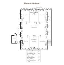 ballroom floor plan ballroom meeting space granlibakken tahoe