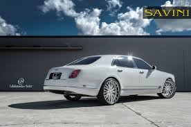 bentley mulsanne 2015 white mulsanne savini wheels