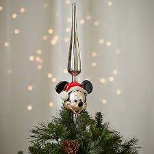 our favorite disney christmas tree toppers mickey fix