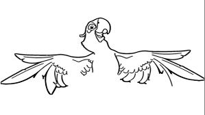 rio blu drawing how to draw a macaw how to draw blu spix u0027s