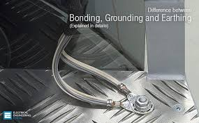 is the difference between bonding grounding and earthing