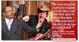 Black Preacher Meme - ted nugent found a black pastor who hates african americans as much