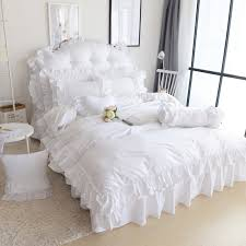 Girls Bed Skirt by Online Get Cheap White Bed Skirt Aliexpress Com Alibaba Group