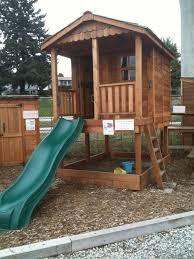 Backyard Cedar Playhouse by Outdoor Living Today Sunflower 6x9 Playhouse Sp69sbox Sale