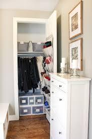 small coat closet storage solutions blue i style creating an