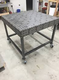 tab and slot welding table tab and slot certiflat weld table the garage journal board