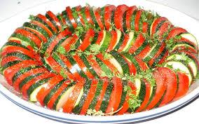 cuisiner des courgettes au four tian de courgettes et tomates