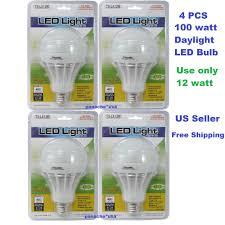 daylight led light bulbs 100 watt equivalent trisonic led light bulbs 100 watt daylight 4