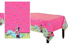 Minnie Mouse Table Covers Minnie Mouse Party Tablecloths Ebay