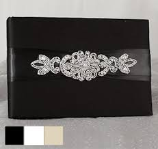 black wedding guest book guest books wedding guest books