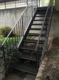 Metal Banisters Metal Handrail Designs Metal Stair Designs Bellingham Wa