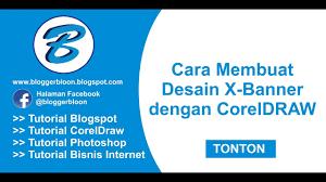 cara membuat desain x banner di photoshop cara membuat desain xbanner dengan coreldraw youtube