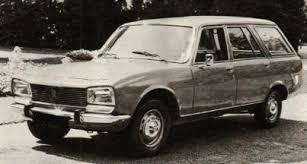 peugeot estate cars peugeot 504 l diesel estate 70s cars
