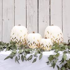 white thanksgiving gold confetti pumpkin gold stripe pumpkin white pumpkin