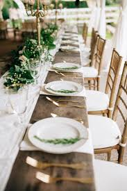 Wedding Reception Table Settings 30 Wedding Table Settings Ideas Elements Of The Reception Table