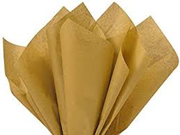 brown tissue paper antique gold bulk tissue paper 15 inch x 20 inch 100