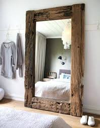 reclaimed wood mirror frame diy i wood mirror frame kit wood