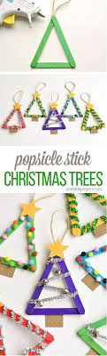 popsicle stick trees by one project and other