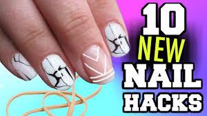 10 nail art hacks you u0027ve never seen before youtube