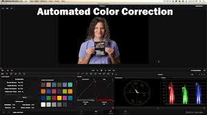 davinci resolve 11 color match automate color correction youtube