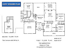 middleton house plan house plans by garrell associates inc