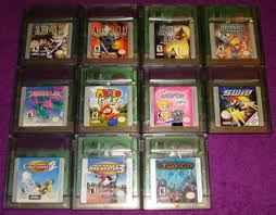 fs big collection of 60 game boy u0026 color games trading for