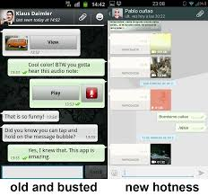 whats app version apk whatsapp messenger beta apk released with snazzy holo interface