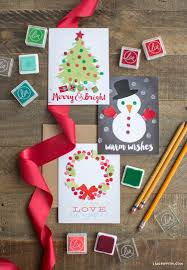 15 diy christmas card ideas easy homemade christmas cards we u0027re