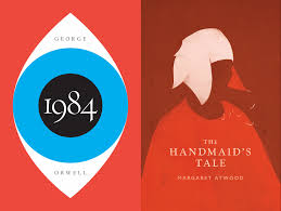 1984 u0027 and u0027the handmaid u0027s tale u0027 get hardcover reissues