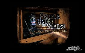 people under the stairs under construction halloween horror