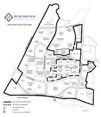 Dulles Town Center Map Reston Town Center Association